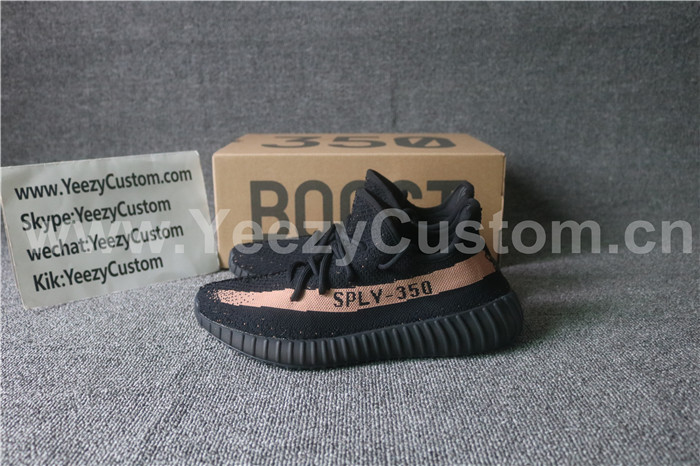 Authentic Adidas Yeezy Boost 350 V 2 Core Black Copper Yeezy 350
