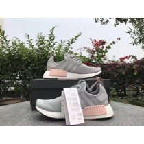Authentic Adidas NMD R1 Grey Pink