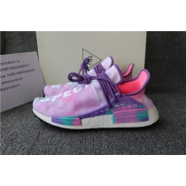 Authentic Pharrell x adidas NMD Hu Trail Holi Pink Glow