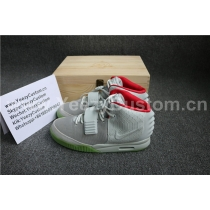 "Authentic Nike Air Yeezy 2 ""Pure Platinum""/ Wolf Grey 3M(With Receipt)"