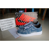 Authentic Air Force 1 Supreme X Louis Vuitton