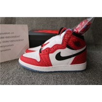 "Authentic Air Jordan 1 Retro High OG ""Chicago Crystal"" GS"