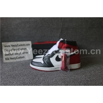 Authentic Air Jordan 1 Black Toe 2016