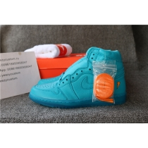 Authentic Air Jordan 1 Gatorade Blue