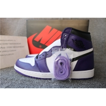 Authentic Nike Air Jordan 1 Court Purple 2020