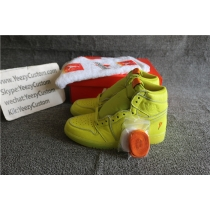 Authentic Air Jordan 1 Gatorade Yellow