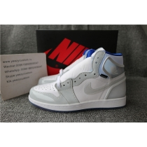 Authentic Air Jordan 1 High Zoom R2T Racer Blue