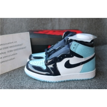 Authentic Air Jordan 1 UNC Patent