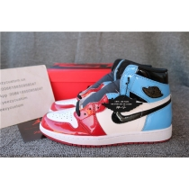 Authentic Air Jordan 1 Retro High Fearless UNC Chicago