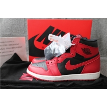 Authentic Air Jordan 1 Hi 85 Varsity Red GS