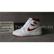 Authentic Air Jordan 1 Metallic Red