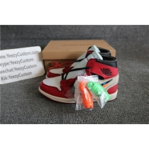 Authentic Air Jordan 1 Off White