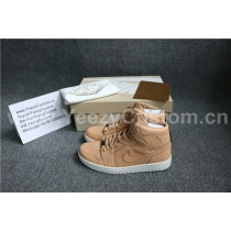 "Authentic Air Jordan 1 Pinnacle ""Vachetta Tan"""