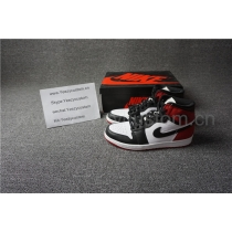 Authentic Air Jordan 1 Retro Black Toe