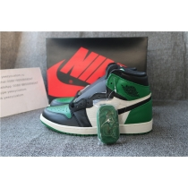 Authentic Air Jordan 1 Pine green