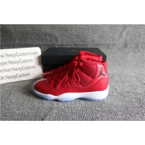Authentic Air Jordan 11 Gym Red GS