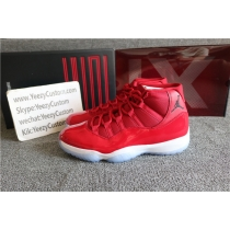 Authentic Air Jordan 11 Retro Gym Red