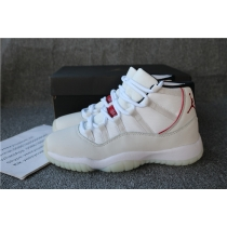 Authentic Air Jordan 11 Plastinum Tint GS