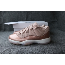 Authentic Air Jordan 11 Rose Gold