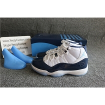 Authentic Air Jordan 11 Midnight Navy Blue