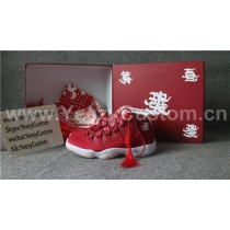 Authentic Air Jordan 11 Retro Red CNY