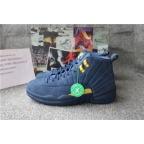 Authentic Air Jordan 12 Michigan