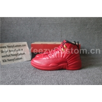 Authentic Air Jordan 12 All Red