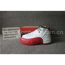 Authentic Air Jordan 12 Cherry Red