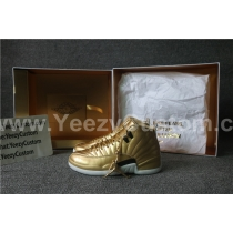 Authentic Air Jordan Retro 12 Gold