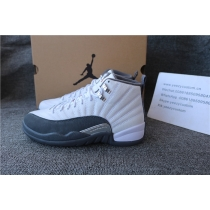 Authentic Air Jordan 12 Dark Grey