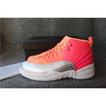 Authentic Air Jordan 12 Hot Punch GS