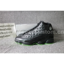 Authentic Air Jordan 13 Black Green