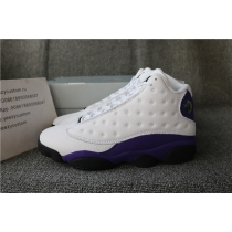 Authentic Air Jordan 13 Lakers Rivals