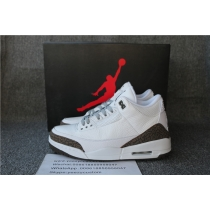 Authentic Air Jordan 3 Mocha
