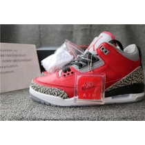 Authentic Air Jordan 3 SE Red Cement