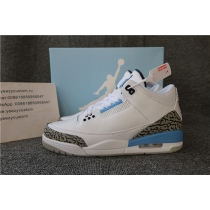 Authentic Nike Air Jordan 3 Retro UNC