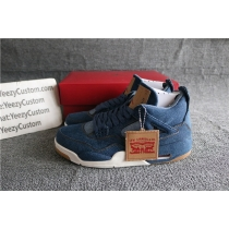 Authentic Air Jordan 4 Levis