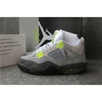 Authentic Air Jordan 4 SE Neon