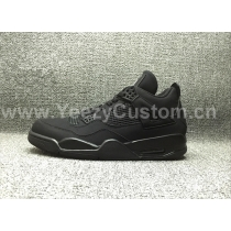 "Authentic Air Jordan 4 ""Black Cat"""