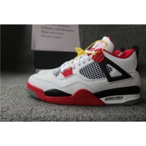Authentic Air Jordan 4 Fire Red 2019