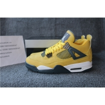 Authentic Air Jordan 4 Lighting