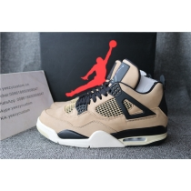 Authentic Air Jordan 4 WMNS Mushroom