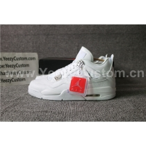 Authentic Air Jordan 4 Pure Money