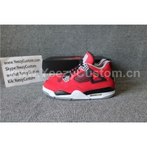 "Authentic Air Jordan 4 ""Toro Bravo"""
