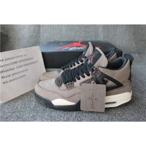 "Authentic Travis Scott x Air Jordan 4 ""Olive"""