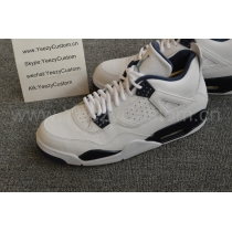 Authentic Air Jordan 4 Columbia 2015