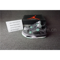 "Authentic Air Jordan 4 ""Green Glow"""