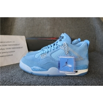 Authentic Air Jordan 4 UNC Tar Heel 2019