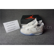 "Authentic Air Jordan 4 ""Laser"""