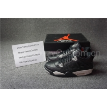 "Authentic Air Jordan 4 ""Tech Grey"""
